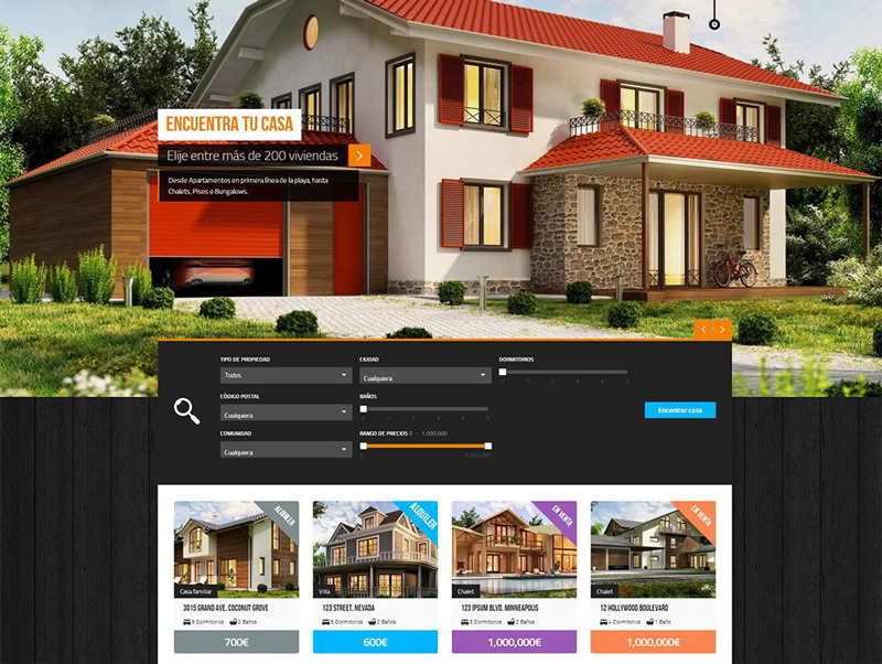 Web Inmobiliarias
